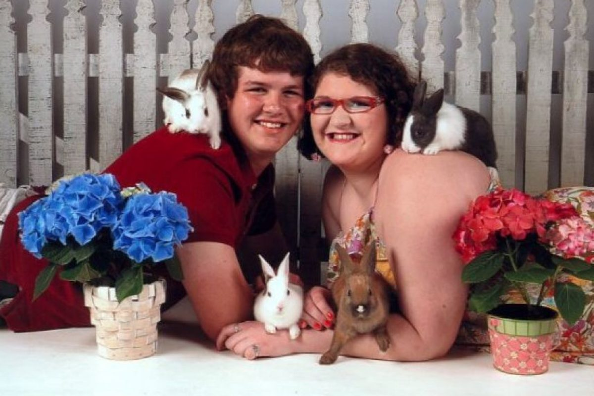 Pobres conejitos bebés. Foto:AwkwardFamilyPhotos. Imagen Por: