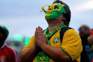 Aficionado brasileño Foto:AFP. Imagen Por: