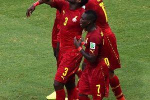 Jugadores de Ghana Foto:Getty Images. Imagen Por: