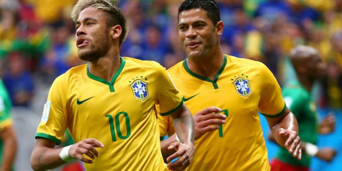 #Brasil2014: Neymar anota el gol 100 del Mundial