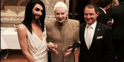 Conchita Wurts se convierte en la nueva musa de Jean Paul Gaultier