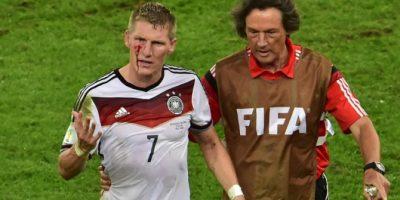 Héroes y villanos: Schweinsteiger sangró para comandar a Alemania al título