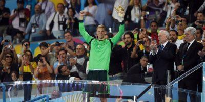 Manuel Neuer fue elegido como el mejor arquero del Mundial