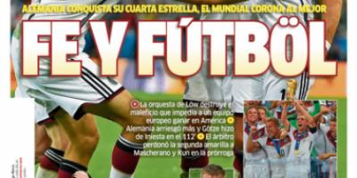 En España catalogaron de escandaloso el Balón de Oro a Messi