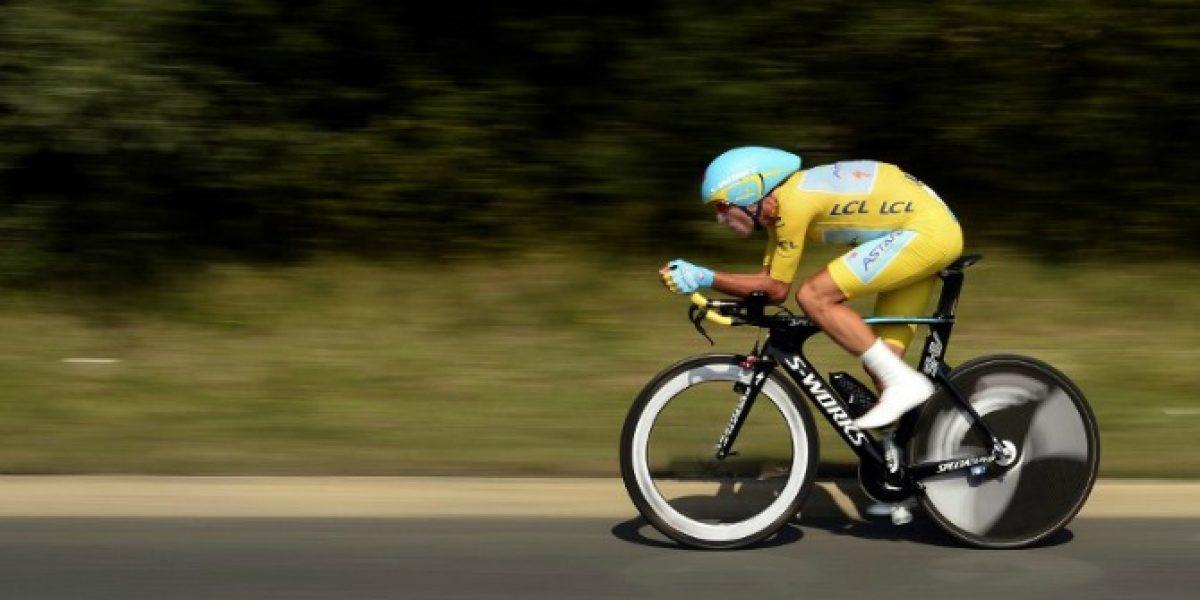 El italiano Vincenzo Nibali es el virtual ganador del Tour de Francia