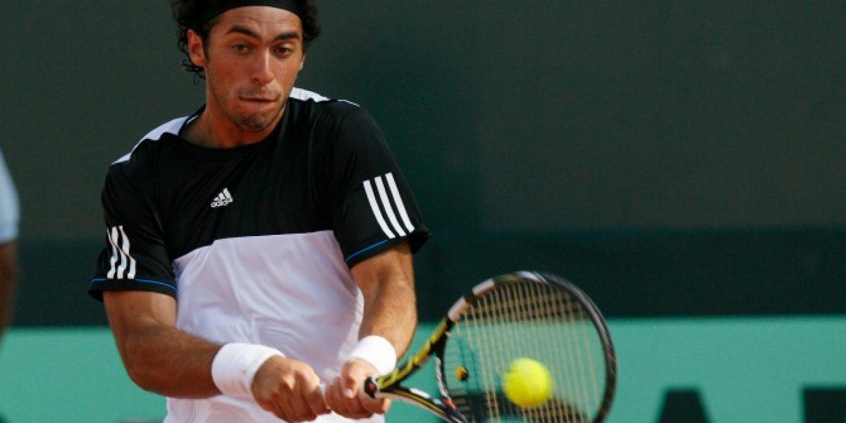 Gonzalo Lama sufrió un duro revés en la qualy del ATP de Washington