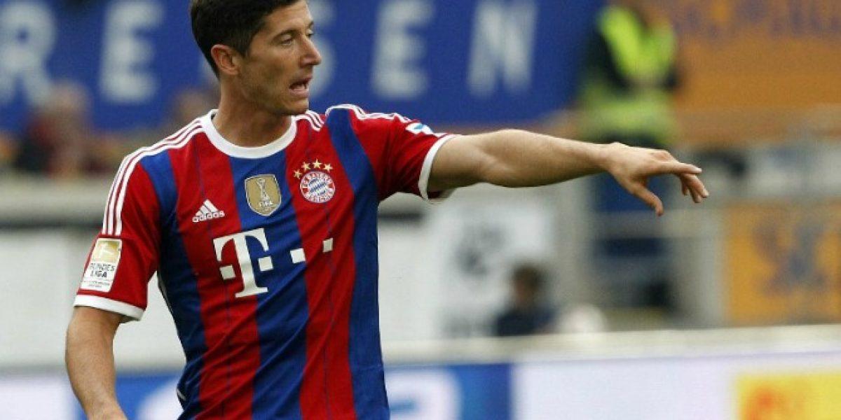 Se pasó: Lewandowski dejó locos a los hinchas del Bayern con tremendo golazo