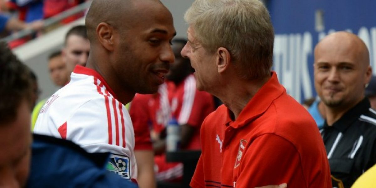 Se reencontraron: Henry comandó a New York Red Bulls en victoria ante Arsenal