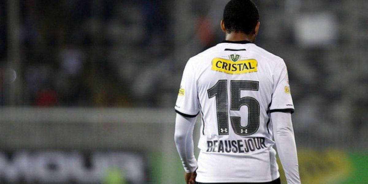 Los hinchas de Colo Colo aprobaron en Twitter el debut de Jean Beausejour