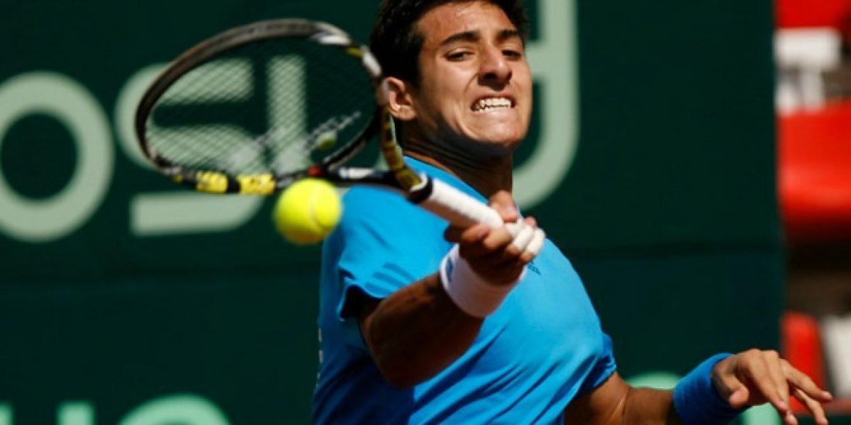 Christian Garín escaló 19 lugares y se ubica 327° en el ranking ATP