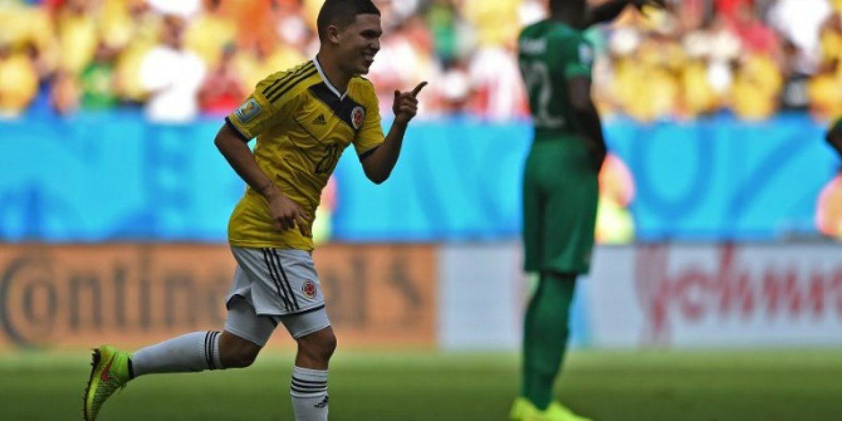 Sánchez podría compartir camarín con otro colombiano en el Arsenal