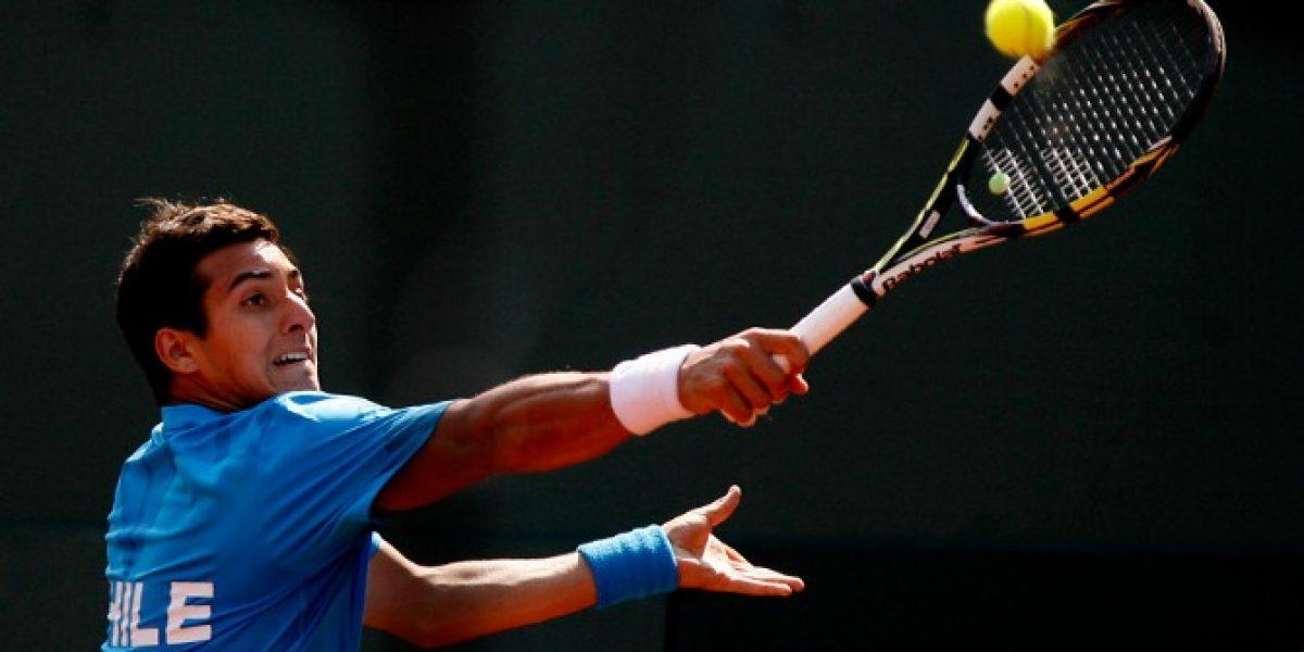 Christian Garin logró una trabajada victoria en el Challenger de Segovia