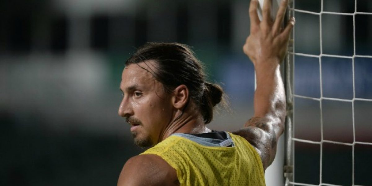 Video: ¿No lo has visto? Mira la pirueta de Zlatan para convertir un golazo en una práctica