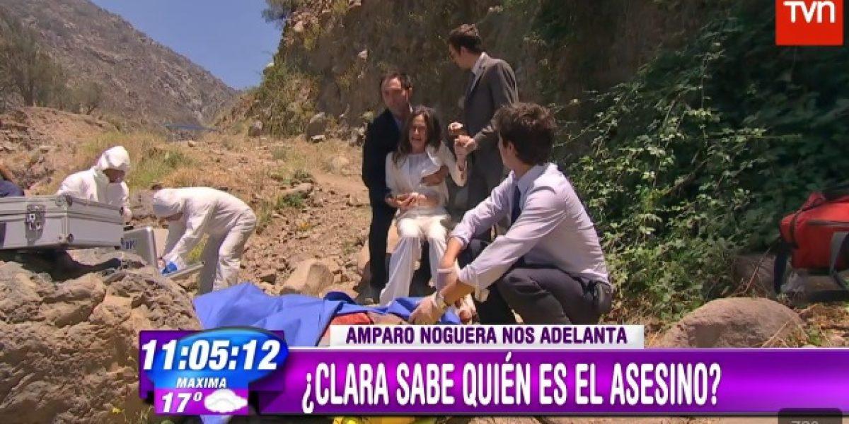Amparo Noguera confiesa que escena cercana al final de