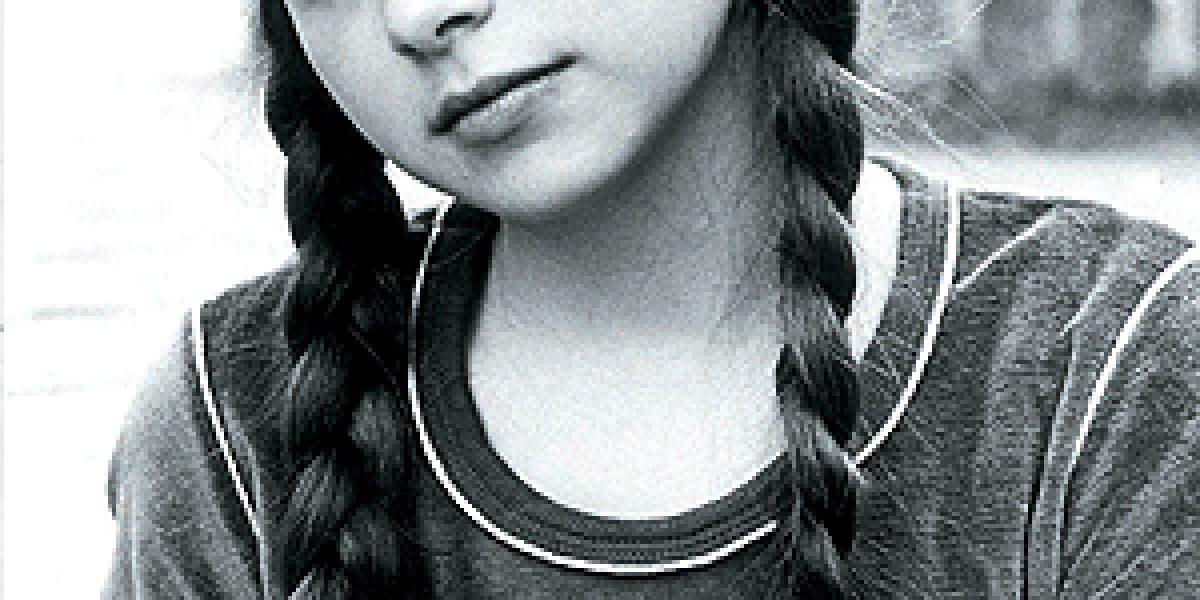 Así se veía Lucerito en sus primeras teleseries