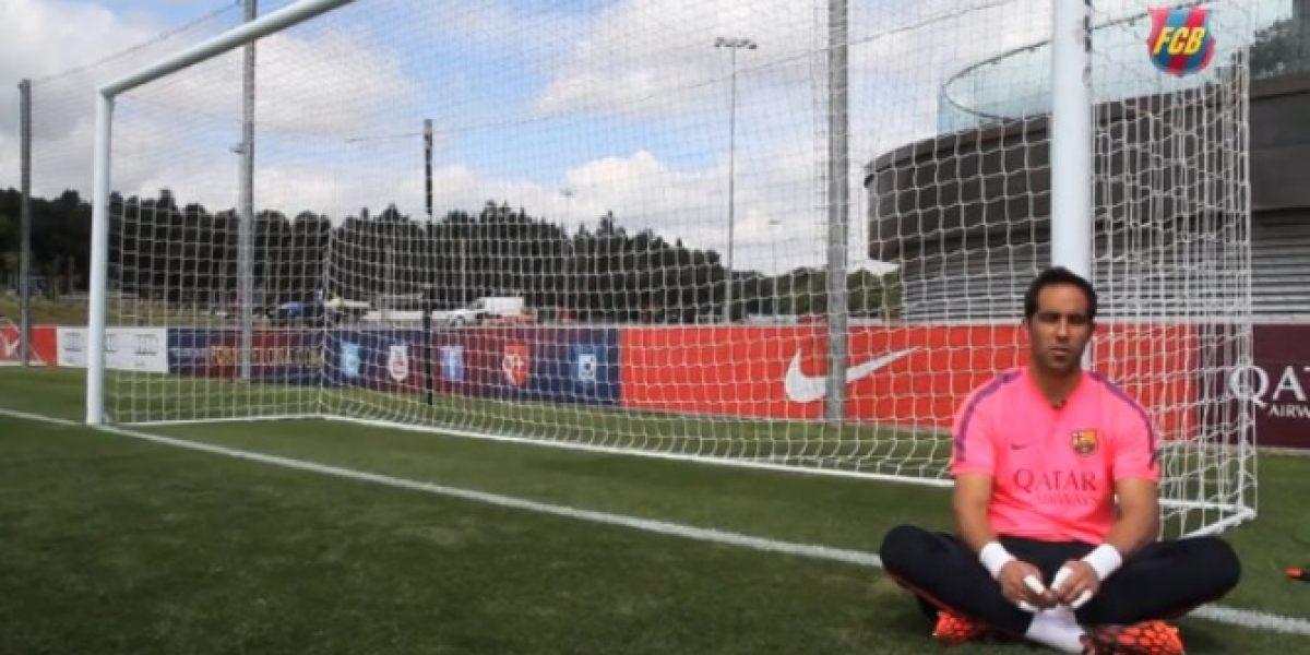 Claudio Bravo y la pelea por la portería del Barça: