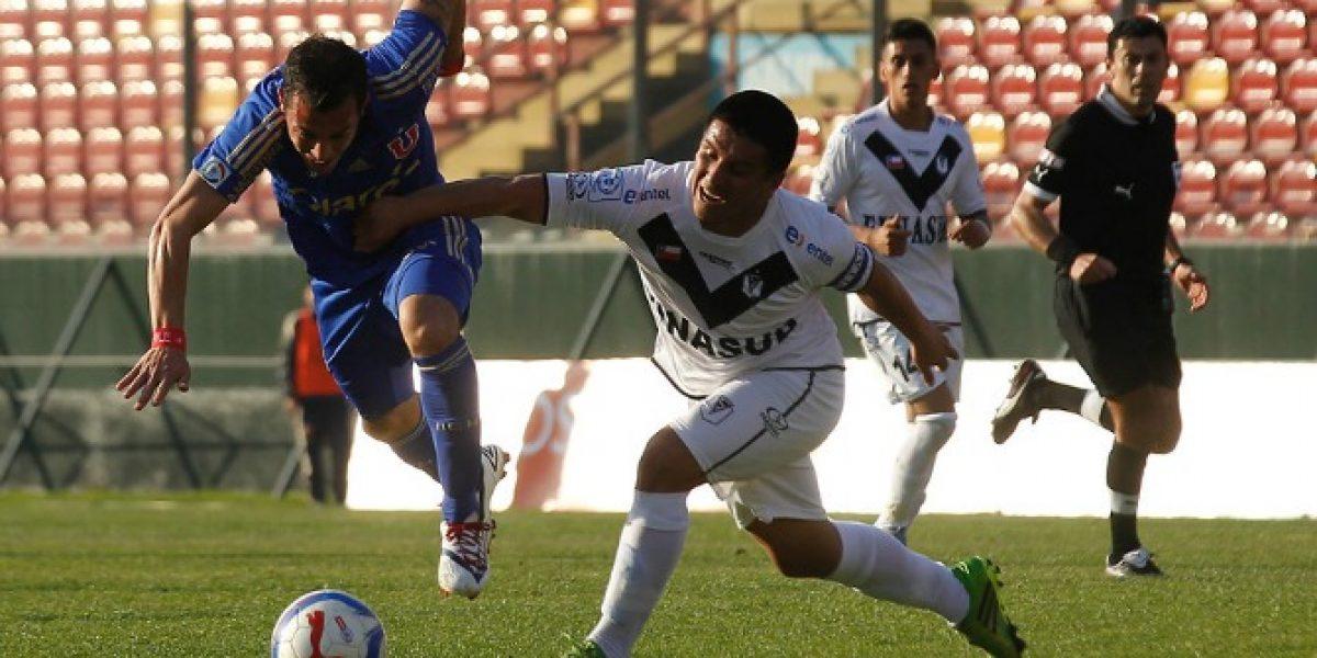 Confirmado: Partido entre la U y Santiago Morning se jugará en Santa Laura