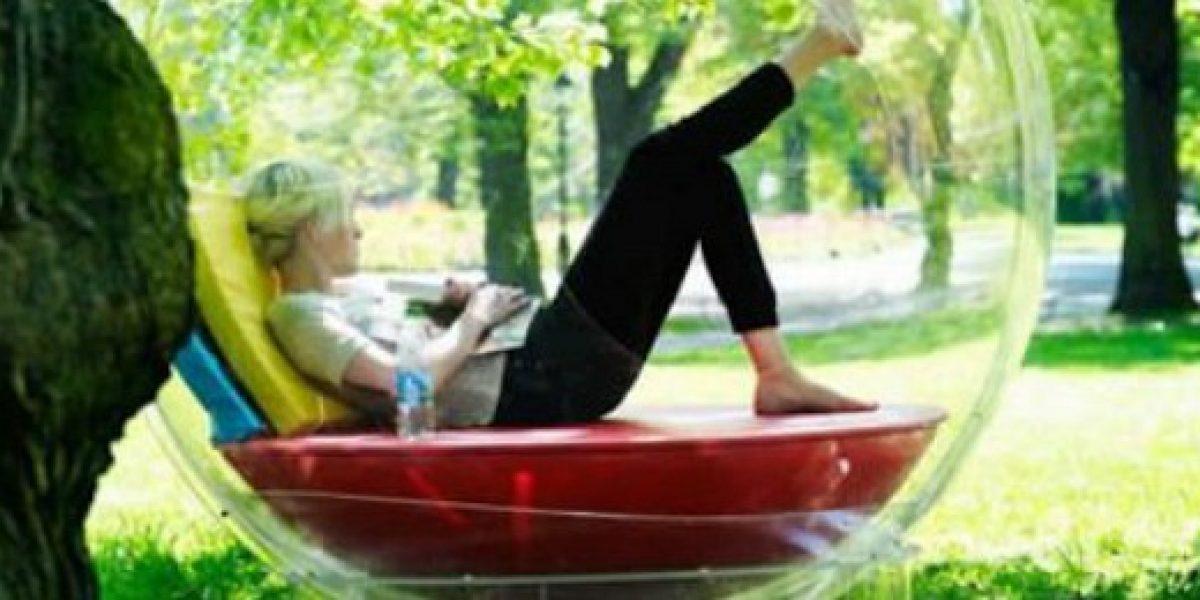 Una burbuja para relajarte escuchando música