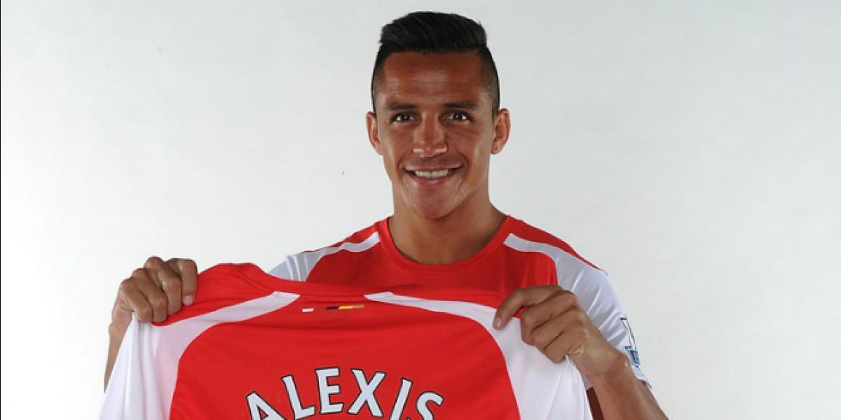 Alexis sub 21: el trabajo del chileno en su llegada a Arsenal