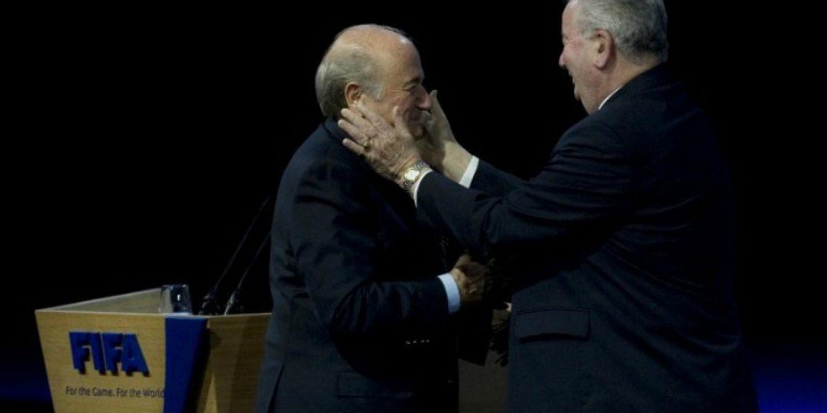Joseph Blatter y Grondona: