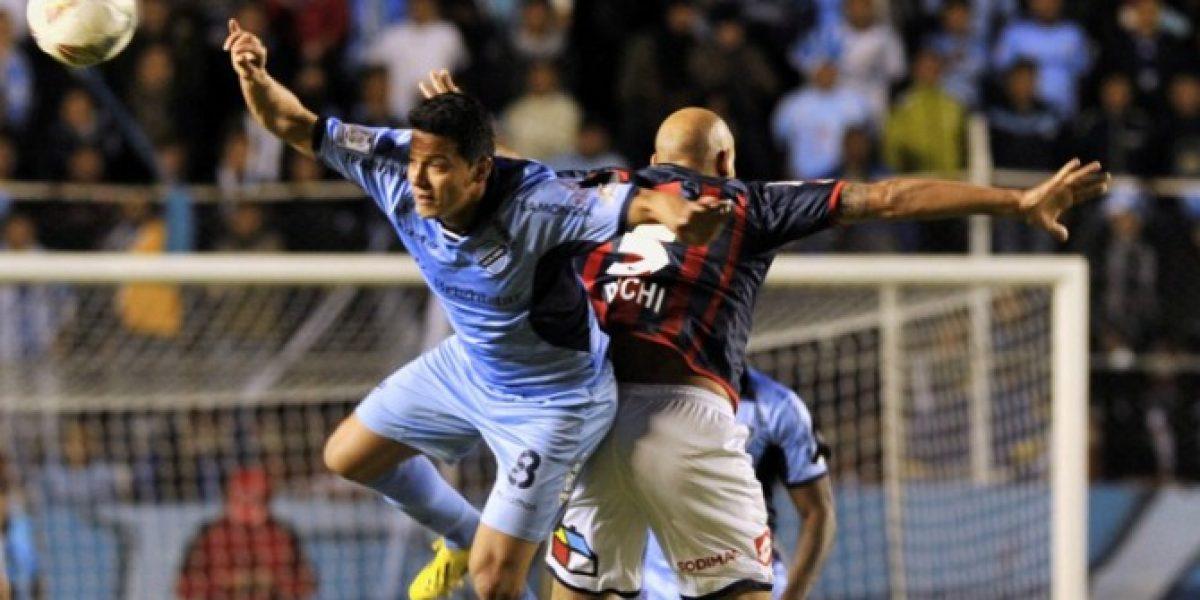 Sólo para la estadística: Bolívar venció al finalista San Lorenzo