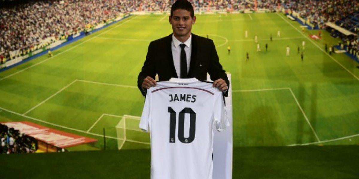 James Rodríguez asegura que es multifuncional y que jugará donde el técnico lo requiera