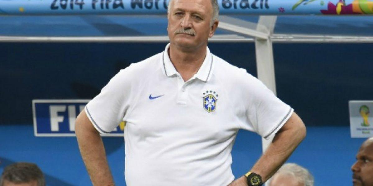 Luiz Felipe Scolari todavía sufre por el 7-1: