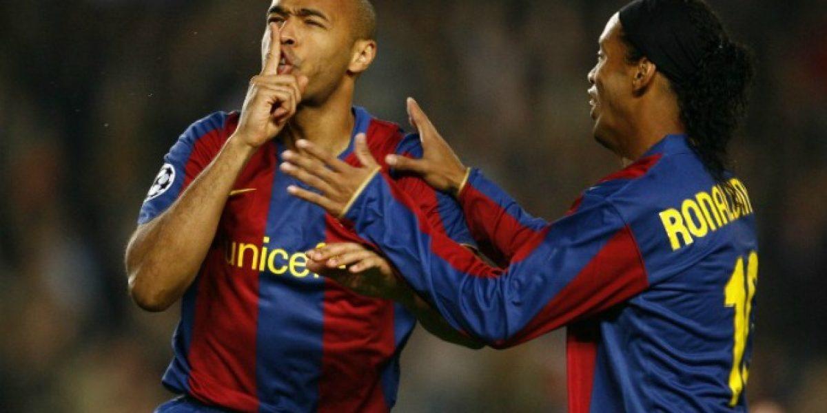 En la MLS llegarán hasta el tope financiero para juntar a Henry con Ronaldinho
