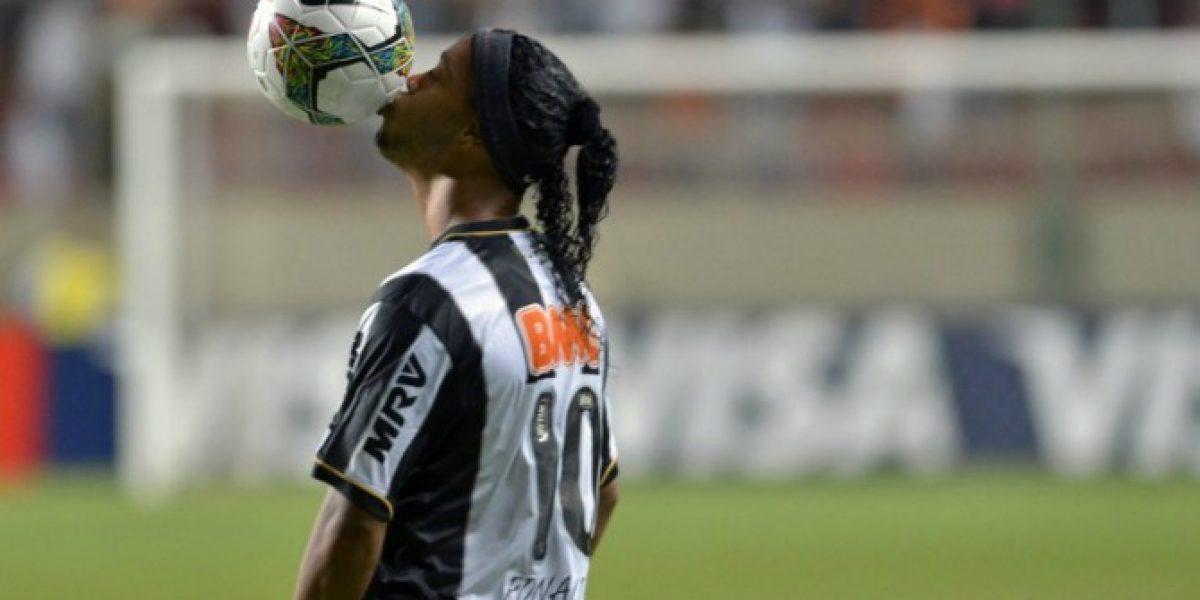 El mensaje de Ronaldinho en Twitter para despedirse de los hinchas de Mineiro