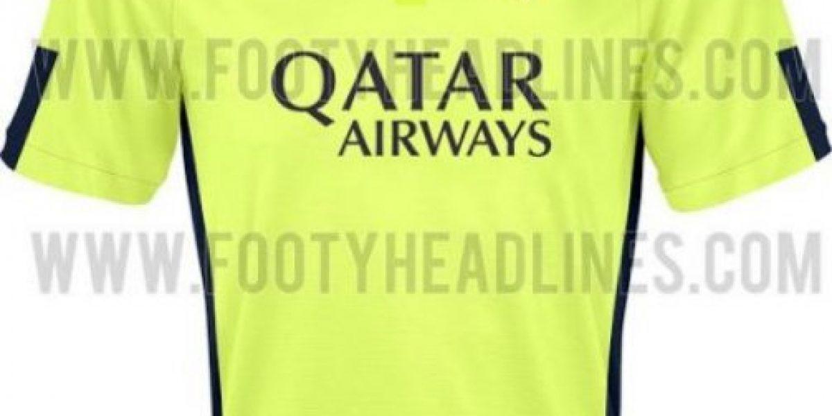 Galería: Filtran camisetas extrañas de Manchester City, Barcelona y PSG