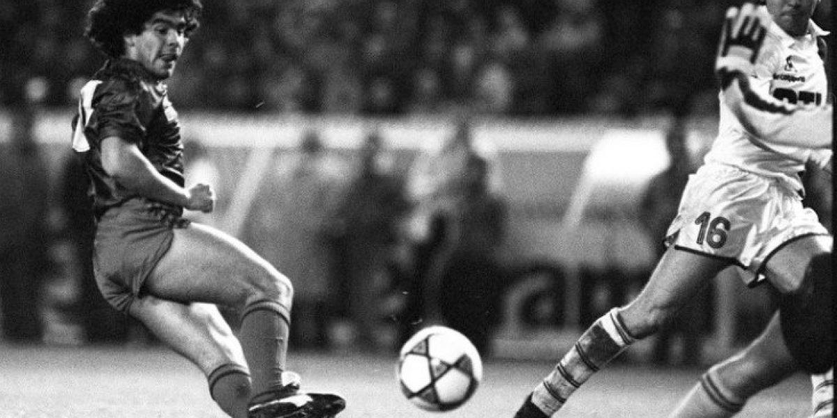 ¡Imperdible! secuencia inédita con jugadas de un imparable Diego Maradona