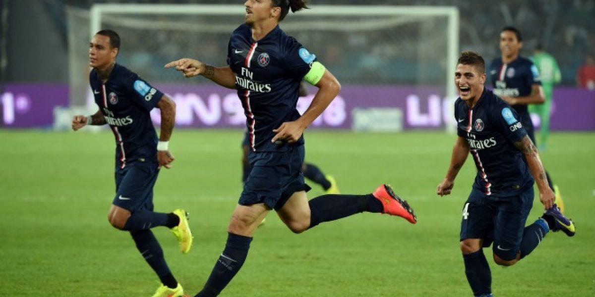 Video: Doblete de Zlatan Ibrahimovic le dio un nuevo título al PSG