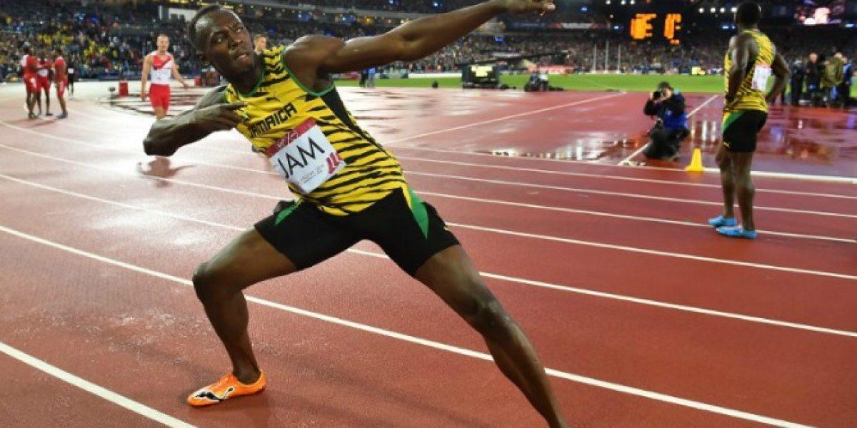Que siga la leyenda: Usain Bolt y Jamaica ganan el relevo 4x100 en Glasgow