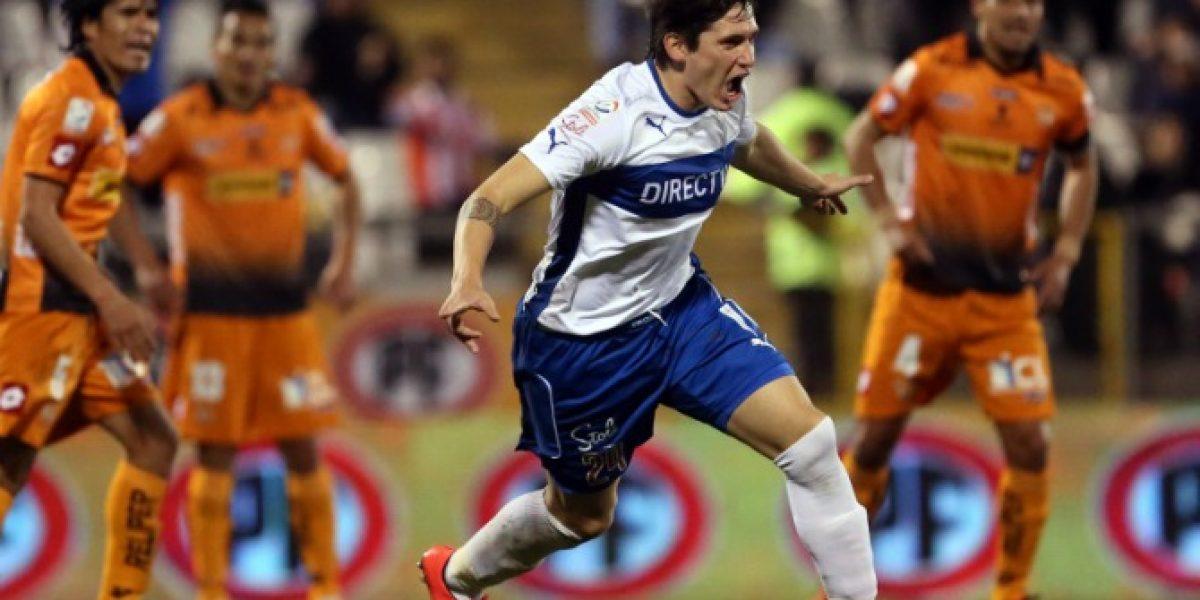 En Directo: Universidad Católica golea 5-1 a Cobreloa en San Carlos de Apoquindo