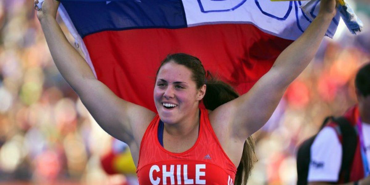Otra chilena de oro en el Iberoamericano: Natalia Ducó fue la mejor en la bala