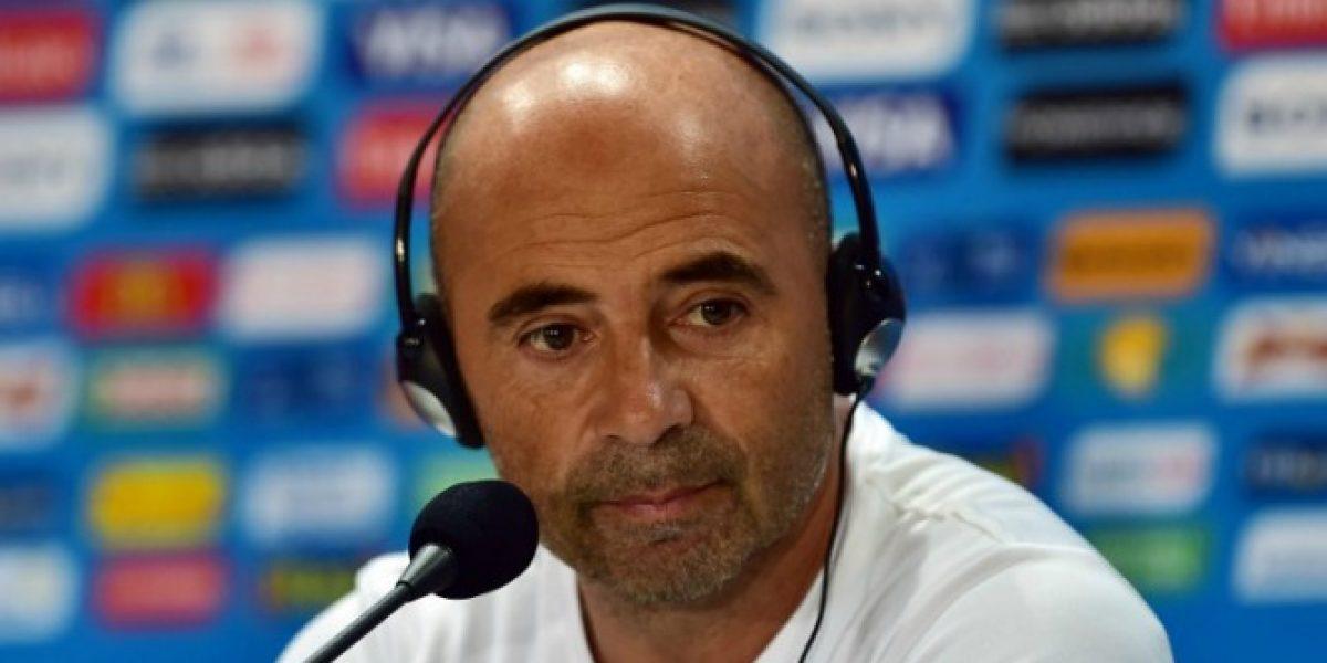 Sampaoli quiere seguir en la selección chilena hasta Rusia 2018