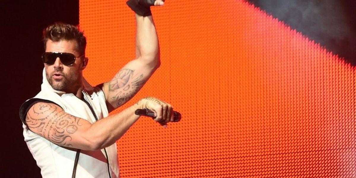 Sólo para fanáticas: Ricky Martin agenda concierto en Chile