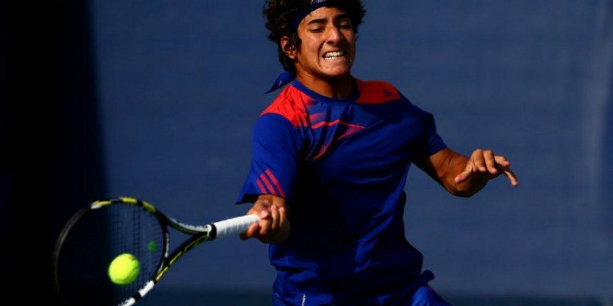 Christian Garín se despidió en la primera ronda del Challenger de San Marino
