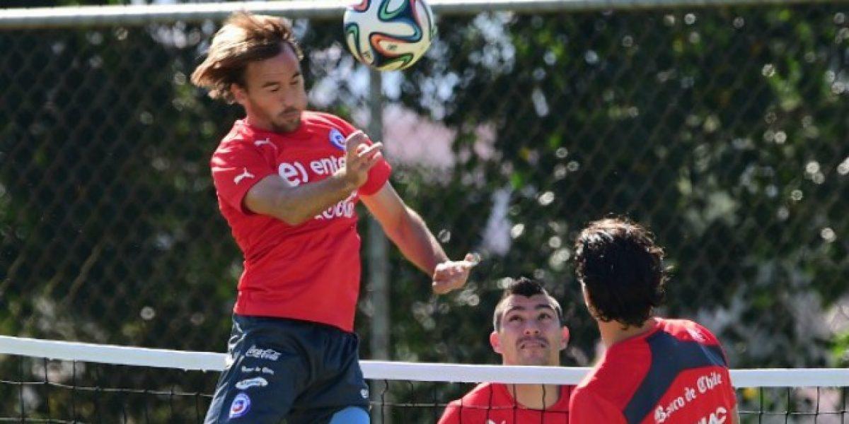 Chapa Fuenzalida tuvo su primera práctica en Boca Juniors