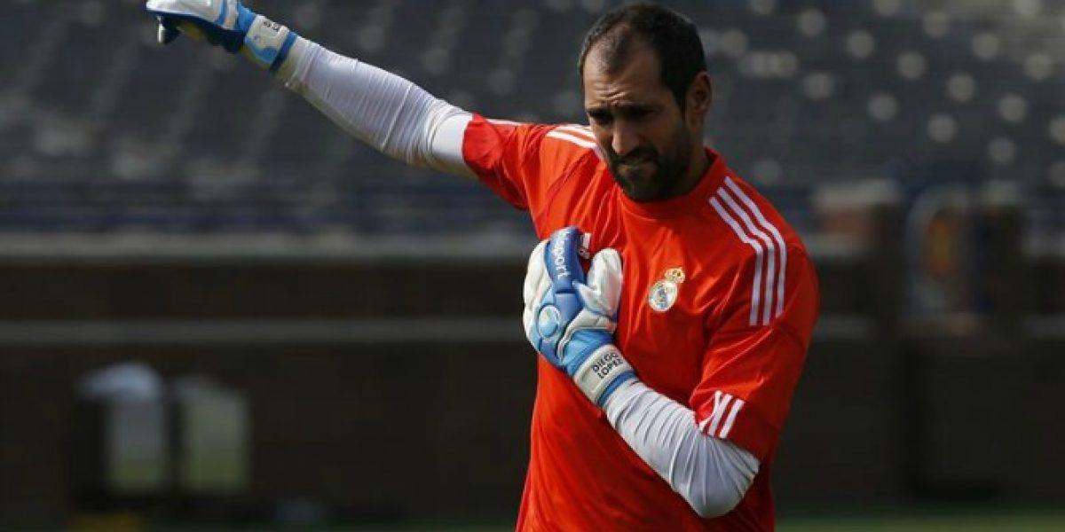 Diego López con un pie afuera de Real Madrid y más acerca a Italia