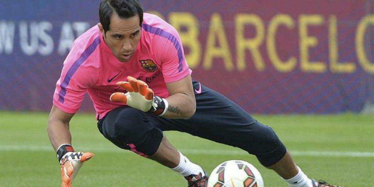 Claudio Bravo: