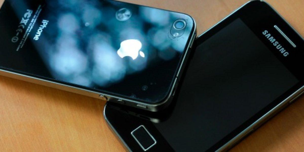 Samsung y Apple ya no se van a pelear más, por lo menos fuera de EE.UU.