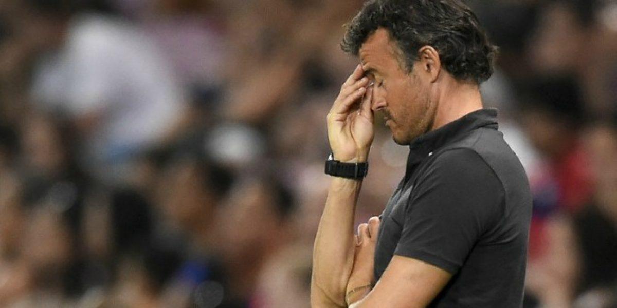 Luis Enrique le bajó el perfil al error de Bravo: