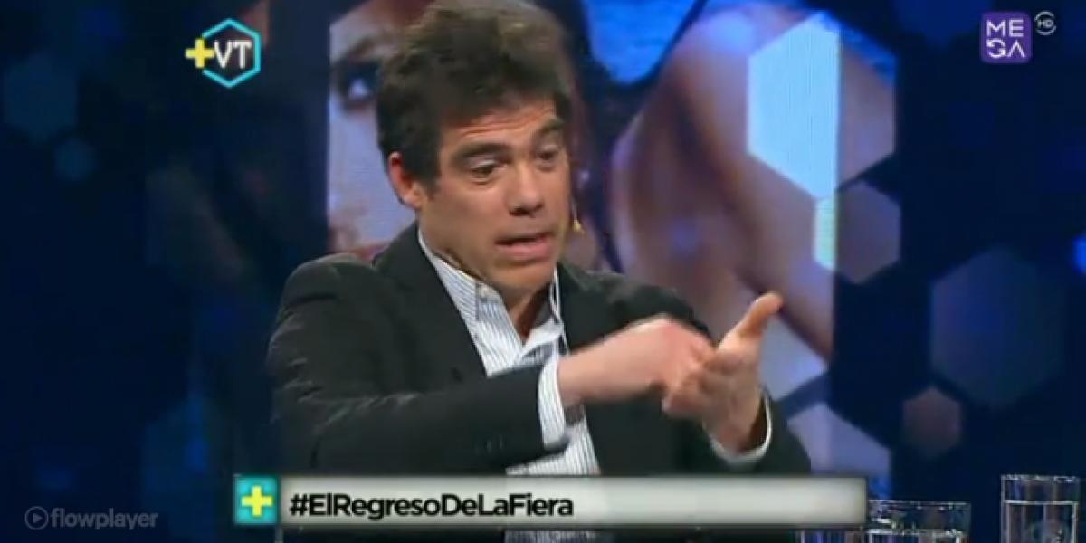 Pamela Díaz echó al agua a Álvaro Escobar