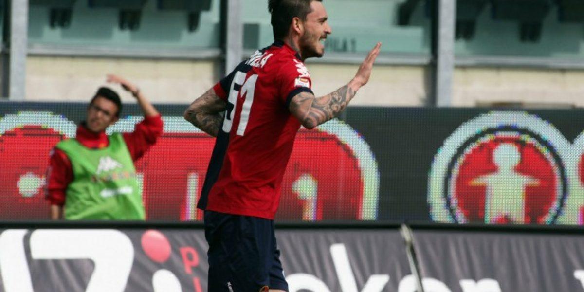 Pinilla firma en el Genoa y es el undécimo club extranjero en su carrera