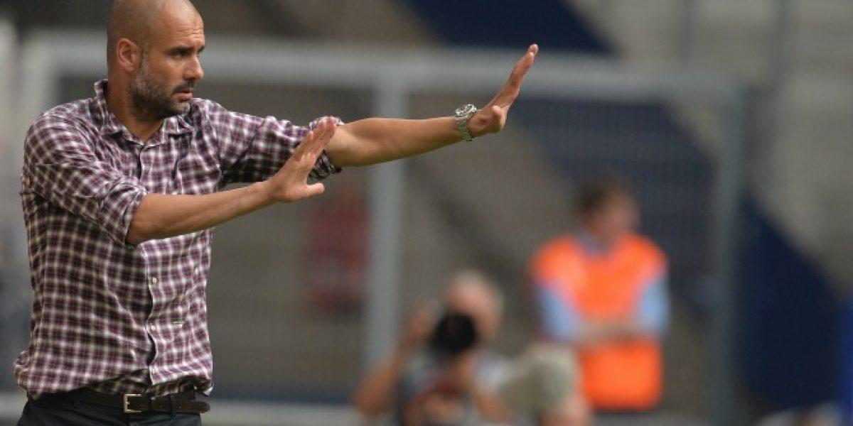 Video: ¡Se enojó! Guardiola mostró su molestia en el amistoso ante las estrellas de la MLS