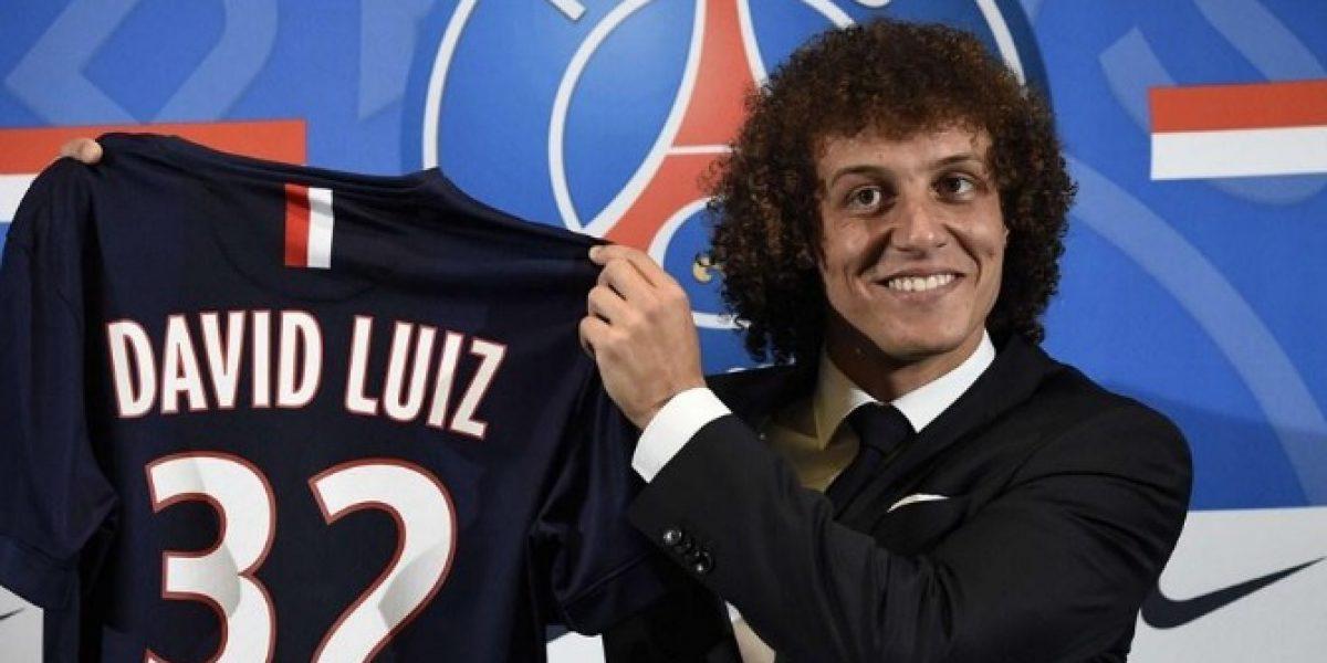 PSG presenta a David Luiz como