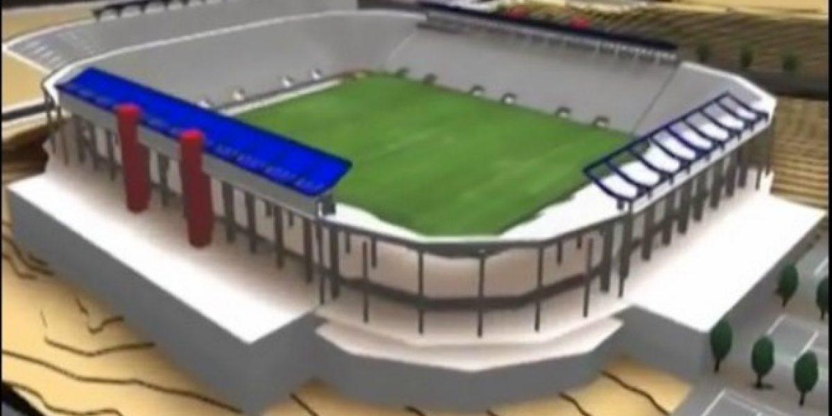 Paciencia azules: Construcción del añorado estadio de la