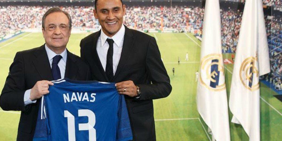 No le entran balas: Mira por qué el Real Madrid quiso a Keylor Navas como arquero merengue