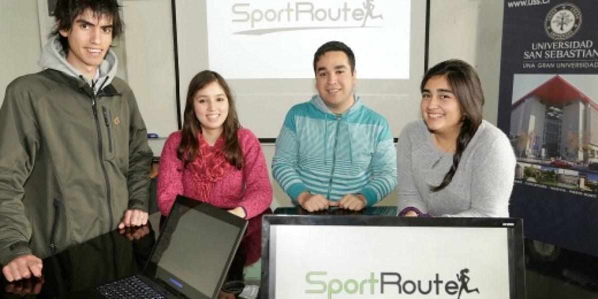 Estudiantes trabajan en app que promueve el deporte al aire libre